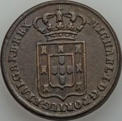 Монета > 40рейса, 1828-1829 - Португалия  - obverse