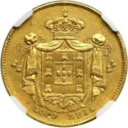 Монета > 5000рейса, 1838 - Португалия  - reverse