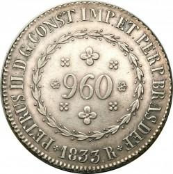 Кованица > 960реиса, 1832-1834 - Бразил  - obverse
