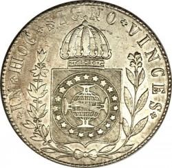 Coin > 960reis, 1832-1834 - Brazil  - reverse