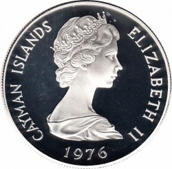 Moneta > 2dollari, 1972-1986 - Cayman (Isole)  - reverse