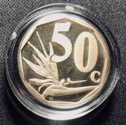 Moneta > 50cents, 2018 - Sudafrica  - reverse