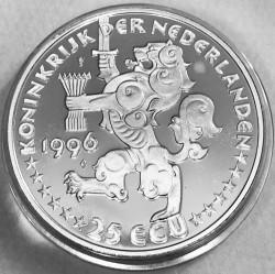 Moneda > 25ECU, 1996 - Países Bajos  (Johannes Vermeer) - obverse