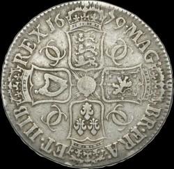 Coin > 1crown, 1671-1680 - England  - reverse