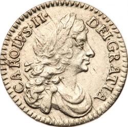 Münze > 2Pence, 1668-1684 - England  - obverse