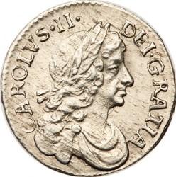 מטבע > 2פנס, 1668-1684 - אנגליה  - obverse