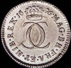 Монета > 2пенса, 1668-1684 - Англия  - reverse