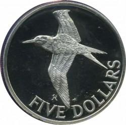 מטבע > 5דולר, 1981 - איי הבתולה הבריטיים  (Royal Tern) - reverse