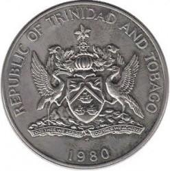 Münze > 10Dollar, 1976-1980 - Trinidad und Tobago  - obverse