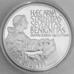Кованица > 25ECUs, 1990 - Холандија  (650th Anniversary - Birth of Geert Grote) - reverse