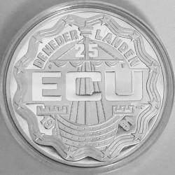 Moneta > 25ECUs, 1991 - Paesi Bassi  (Erasmo da Rotterdam) - obverse