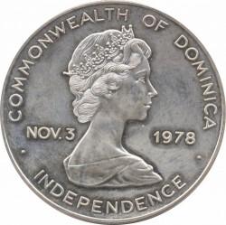 Münze > 20Dollar, 1978 - Dominica  (50th Anniversary - Graf Zeppelin) - obverse