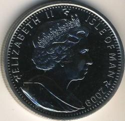 Moneta > 1crown, 2009 - Isola di Man  (XXX Giochi olimpici estivi, Londra 2012 - Vela) - obverse