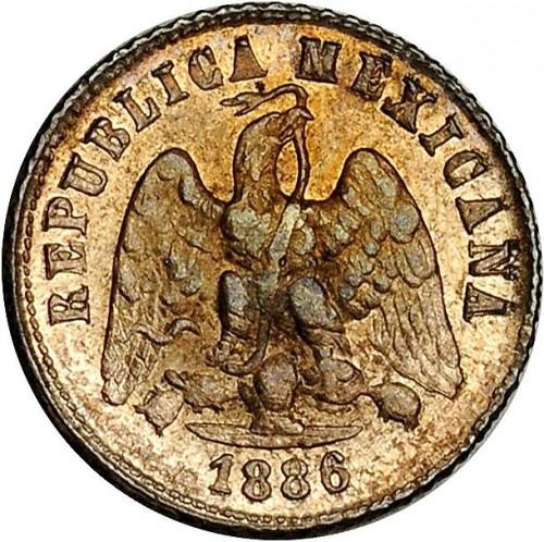 10 Centavos 1869 1897 Mexico Coin