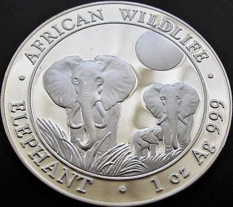 2015 Somalia Republic Silver 100 Shillings