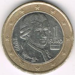 Moneda > 1euro, 2008-2019 - Àustria  - obverse