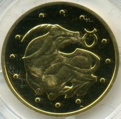 Moneta > 2hrywny, 2006 - Ukraina  (Znaki zodiaku - Byk) - reverse