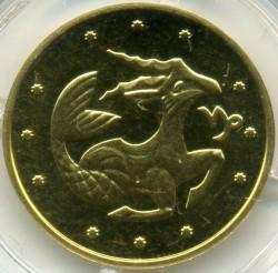 Moneta > 2hrywny, 2007 - Ukraina  (Znaki zodiaku - Koziorożec) - reverse