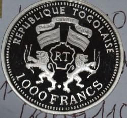 Монета > 1000франков, 1999 - Того  (Мартин Лютер) - obverse