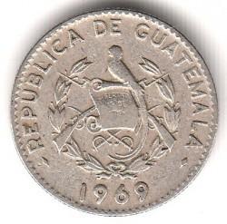 Moneda > 5centavos, 1965-1970 - Guatemala  - obverse