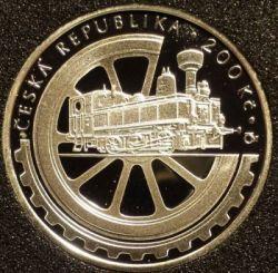 Moneda > 200coronas, 2008 - República Checa  (100th Anniversary - National Technical Museum) - obverse