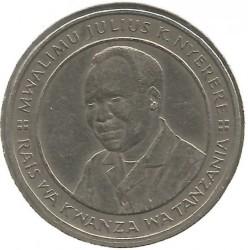 Munt > 10shillings, 1987-1989 - Tanzania  - obverse