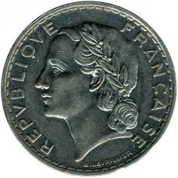 Münze > 5Franken, 1933-1938 - Frankreich  - obverse
