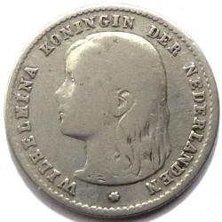 Moneta > 10centesimi, 1892-1897 - Paesi Bassi  - obverse