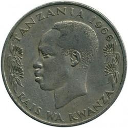 Moneta > 1szyling, 1966-1984 - Tanzania  - obverse