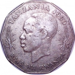 Moneta > 5szylingów, 1972-1980 - Tanzania  - reverse