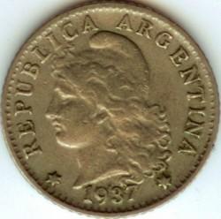 Moneda > 5centavos, 1896-1942 - Argentina  - obverse