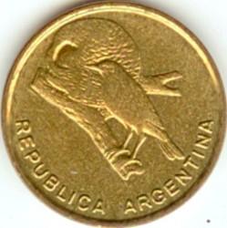 سکه > ½سنتاوو, 1985 - آرژانتین  - obverse