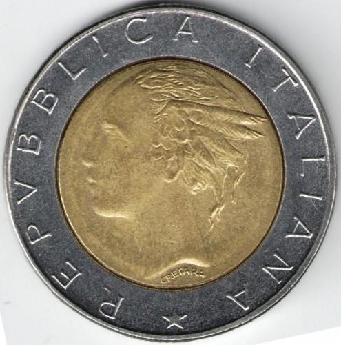 500 Lire 1982 2001 Italy Coin Value Ucoinnet