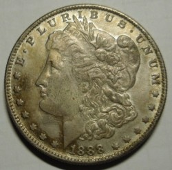 1 Dollar 1888 Morgan Dollar Usa Münzen Wert Ucoinnet