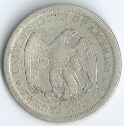 سکه > ¼دلار, 1875-1891 - ایالات متحده آمریکا  (Seated Liberty Quarter) - reverse