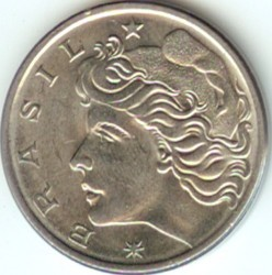 Монета > 50сентаво, 1975-1979 - Бразилия  - obverse