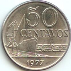 Монета > 50сентаво, 1975-1979 - Бразилия  - reverse