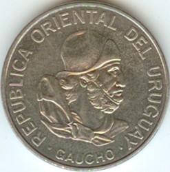 Moneda > 100nuevospesos, 1989 - Uruguay  - obverse