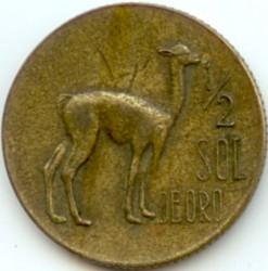 Pièce > ½sol, 1966-1973 - Pérou  - reverse