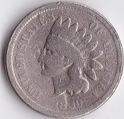 Moneda > 1centavo, 1859 - Estados Unidos  - obverse