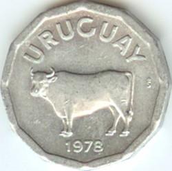 Moneda > 5centésimos, 1977-1978 - Uruguay  - obverse