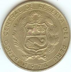 Монета > 10сола, 1972-1975 - Перу  - obverse