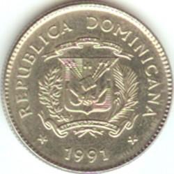 מטבע > 10סנטאבו, 1989-1991 - הרפובליקה הדומיניקנית  - obverse