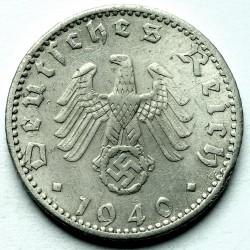 Coin > 50reichspfennig, 1939-1944 - Germany - Third Reich  - obverse