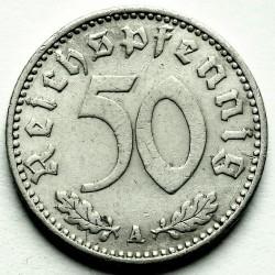 Coin > 50reichspfennig, 1939-1944 - Germany - Third Reich  - reverse
