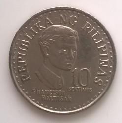 Mynt > 10sentimos, 1975-1978 - Filippinene  - reverse