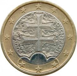 Coin > 1euro, 2009 - Slovakia  - obverse