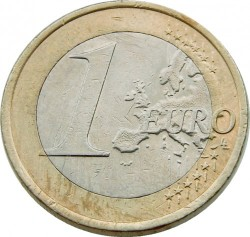 Coin > 1euro, 2009 - Slovakia  - reverse