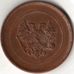 Moneta > 10penniä, 1917 - Finlandia  (Eagle on reverse) - reverse
