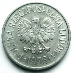 Coin > 20groszy, 1957-1985 - Poland  - obverse